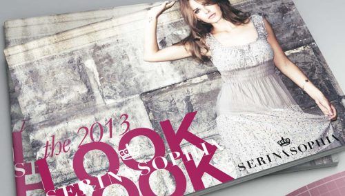 FASHION LOOK BOOK DESIGN COVER