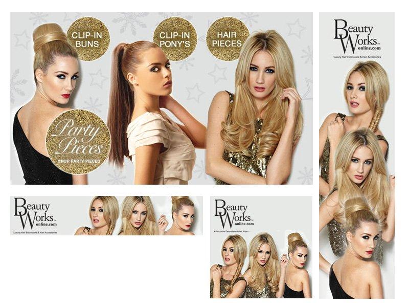 Web banners beauty works
