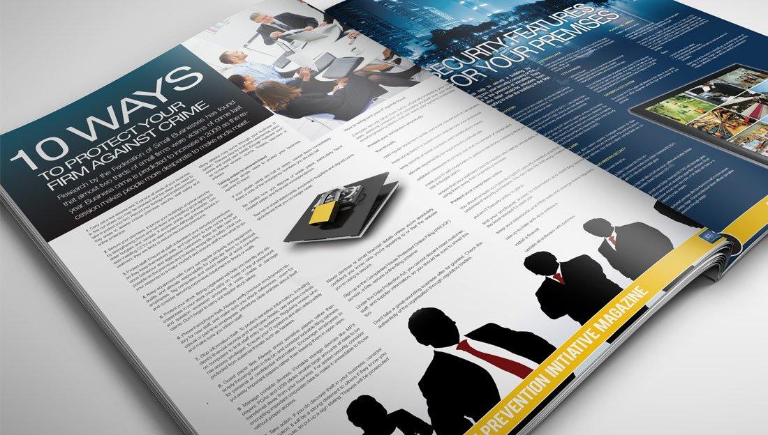 CPI Brochure Inner Page Design crime