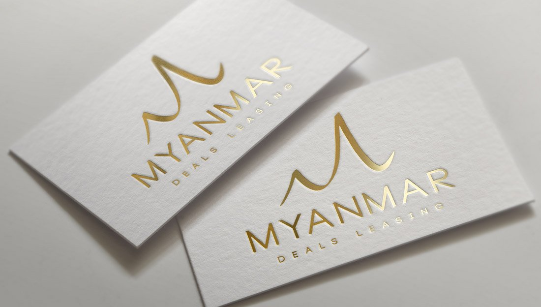 Myanmar Deals Leasing Branding Design