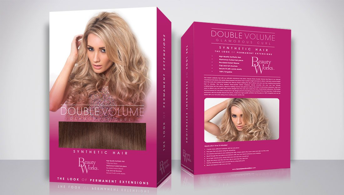 Packaging Design Double Volume front & Back