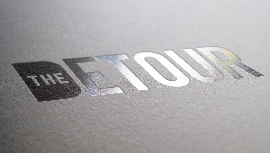 The Detour logo design