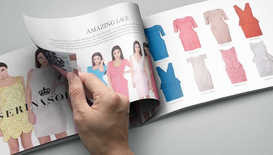 FASHION LOOK BOOK DESIGN INNER PAGES