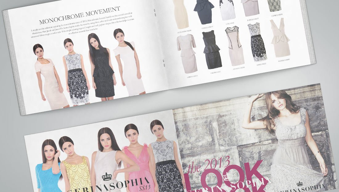 FASHION LOOK BOOK DESIGN COVER & INNER PAGES