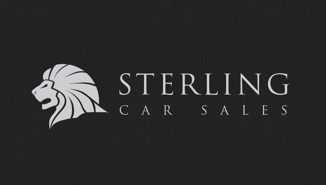 Sterling logo design straight