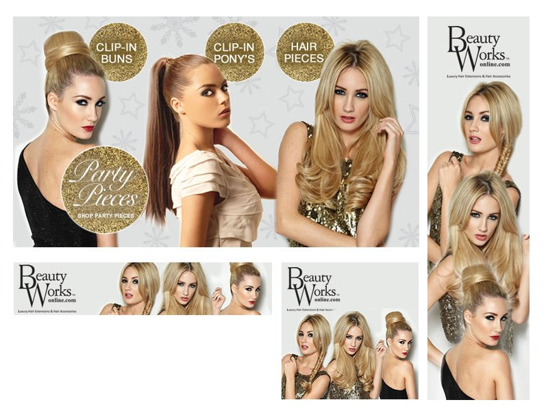Web banners beauty works