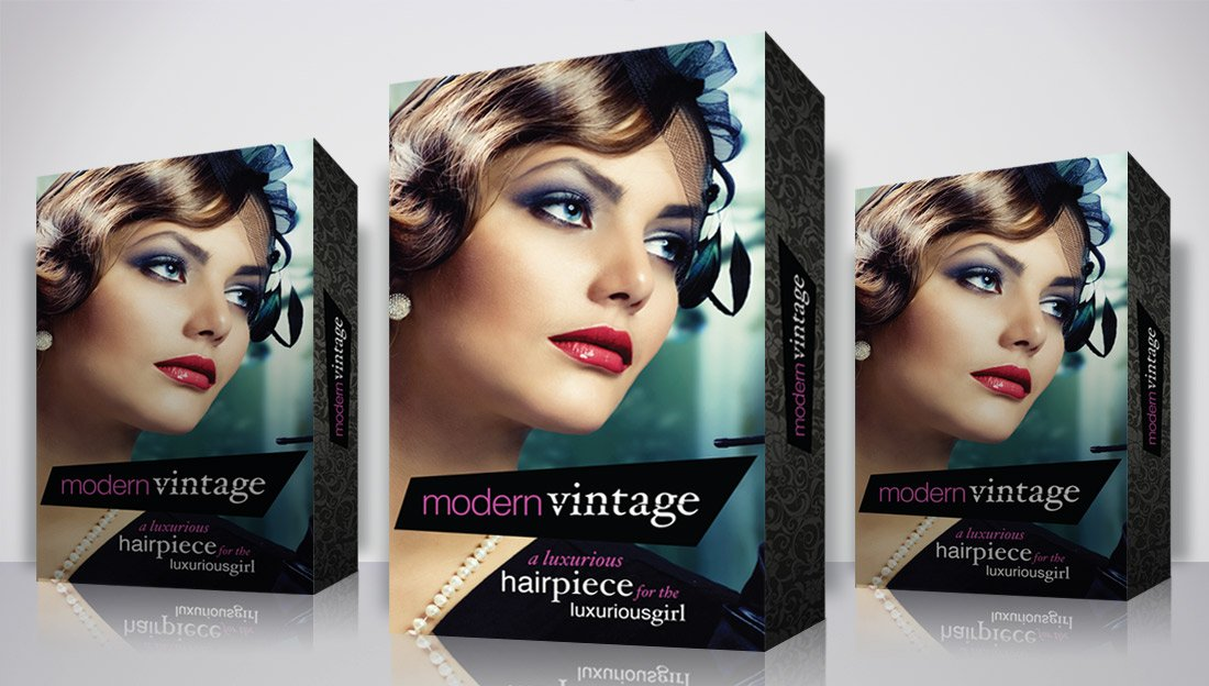 Hair Extensions Packaging Design
