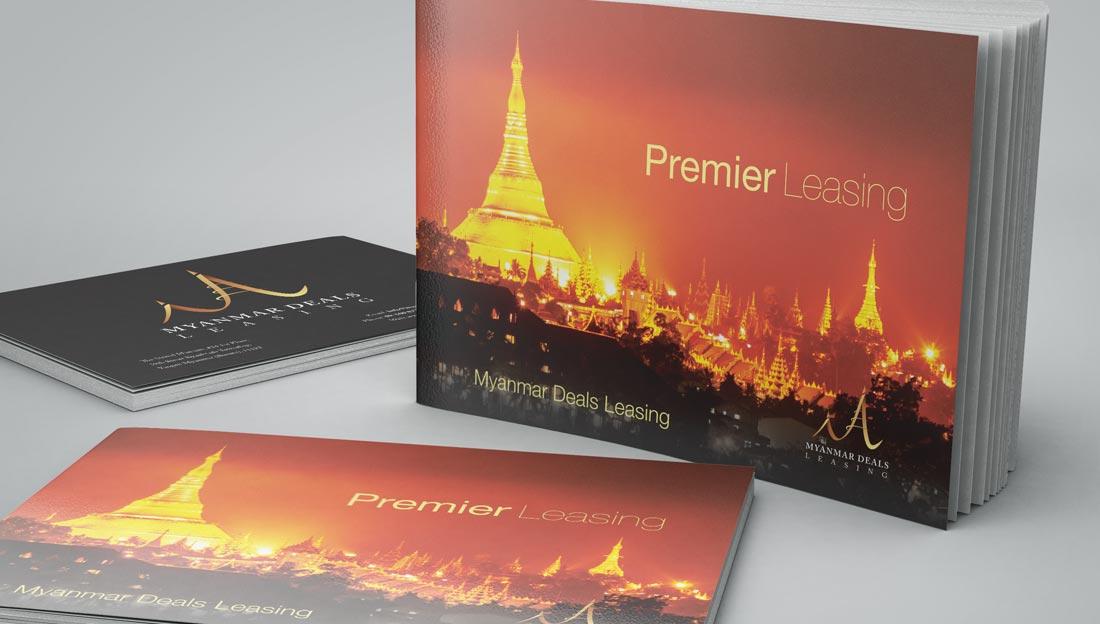 myanmar deals leasing booklet design covers