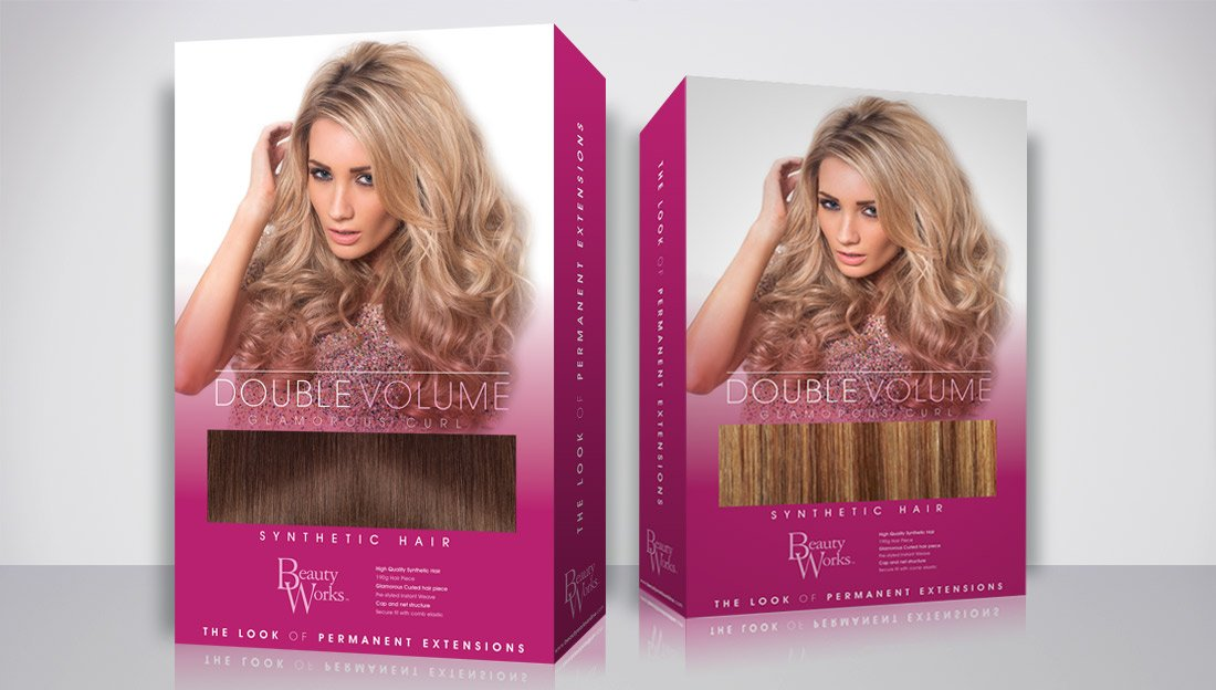 Packaging Design Double Volume front