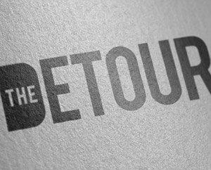 The Detour logo design featured image