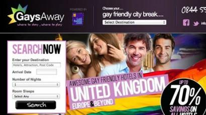 GaysAway Website