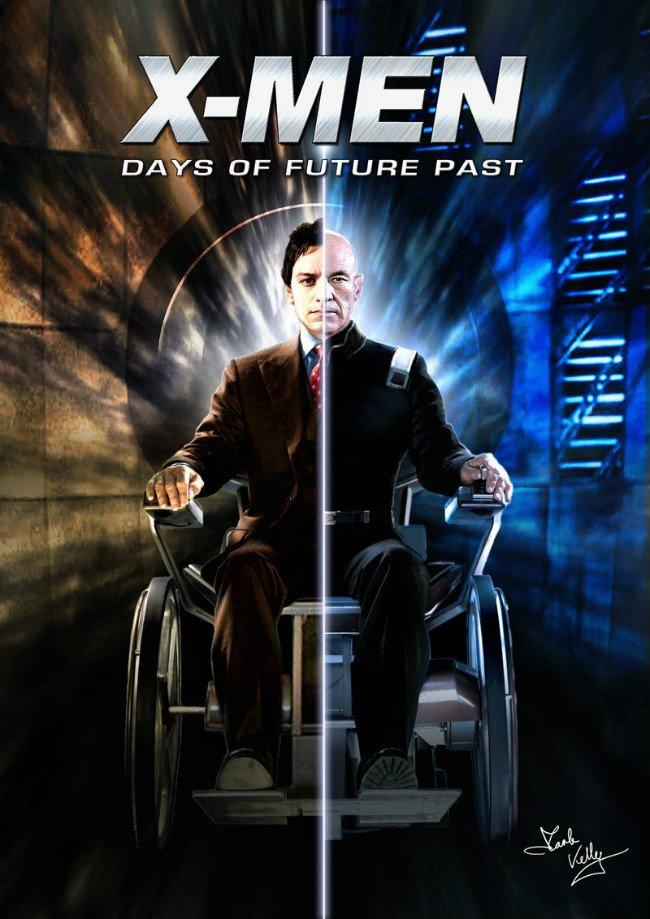 x-men days of future past poster prof x