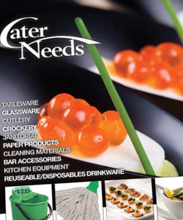 Catalogue Layout Design for Print & Online for Liverpool Catering Company