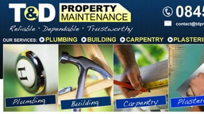 T&D PROPERTY MAINTENANCE WEB DESIGN