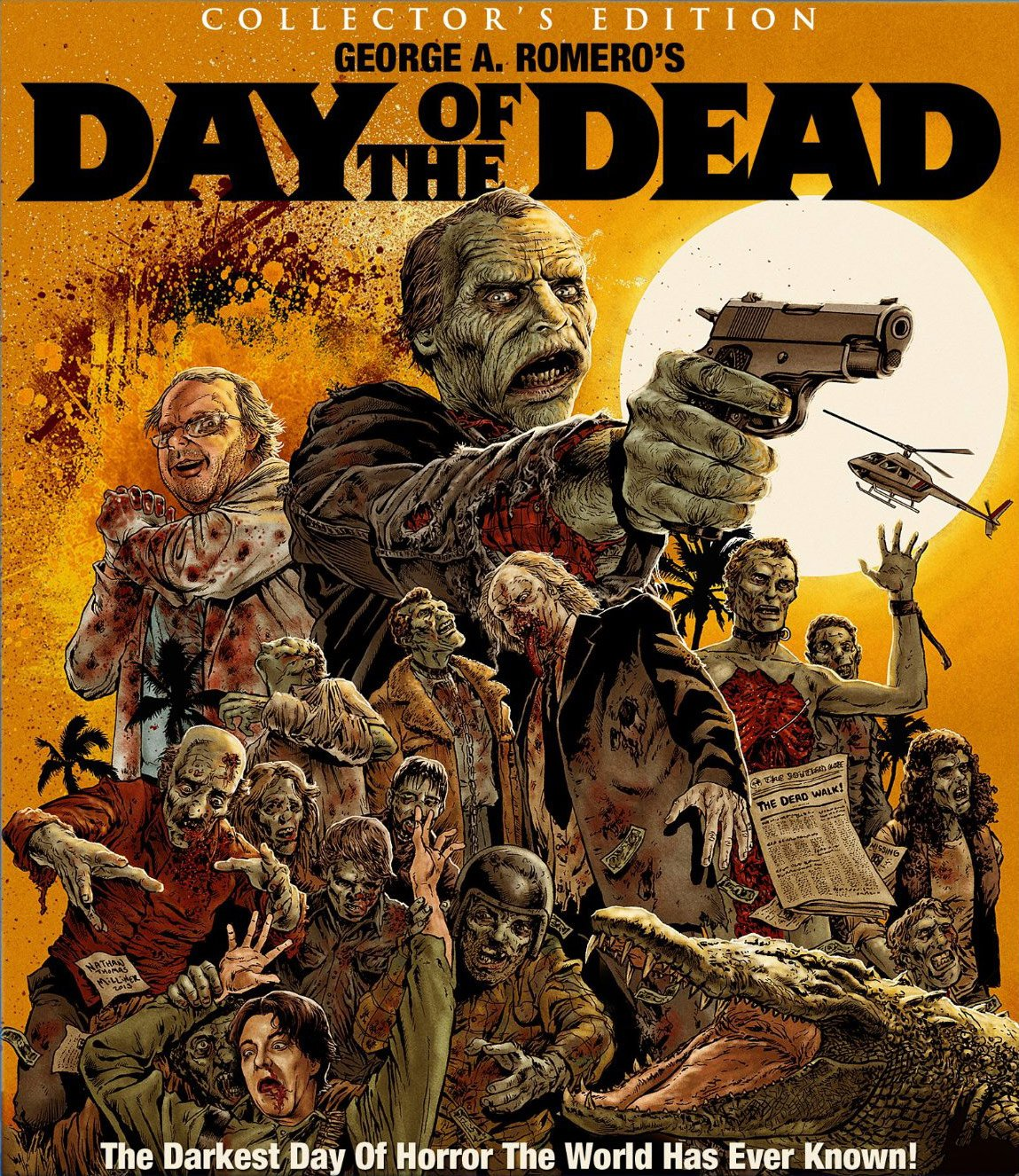 Day of The Dead Art Style Day of The Dead Blu-ray Art