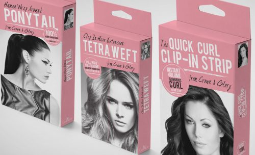 grouped-remy-hair-extension-box-packaging-design-crown-and-glory