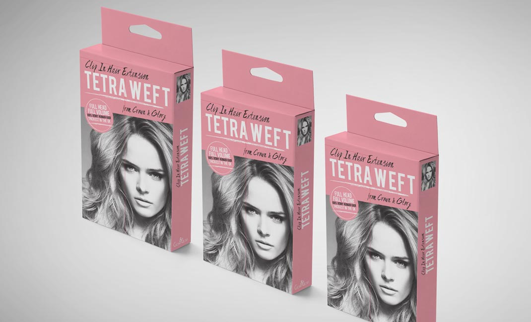 grouped-tetra-weft-remy-hair-extension-box-packaging-design-crown-and-glory