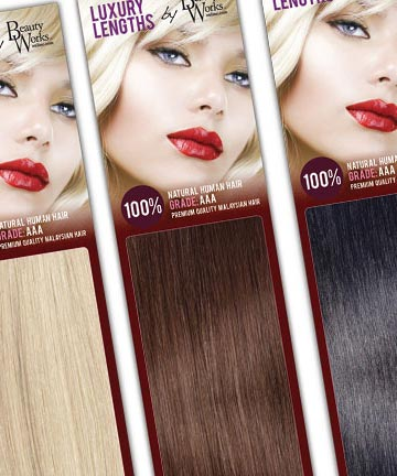 PACKAGING DESIGN FOR LUXURY LENGTHS HAIR EXTENSIONS FROM BEAUTY WORKS