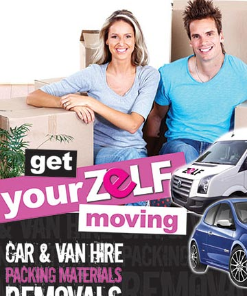 Advertising Print Campaign for Zelf Storage