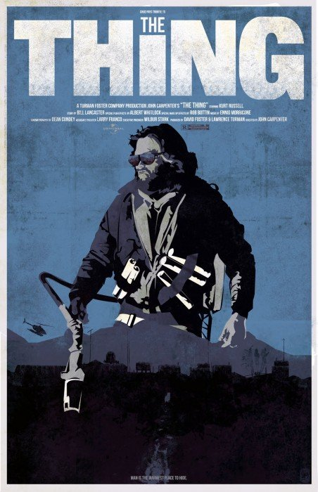 The Thing Movie Poster 2