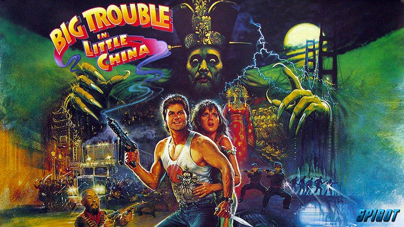 Big Trouble in Little China Poster 2