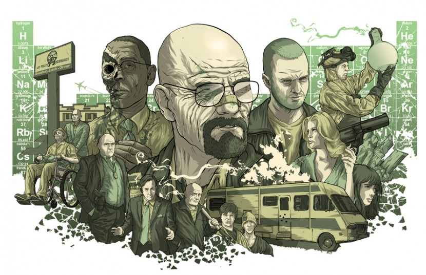 Breaking Bad illustration by Alexander Laccarino