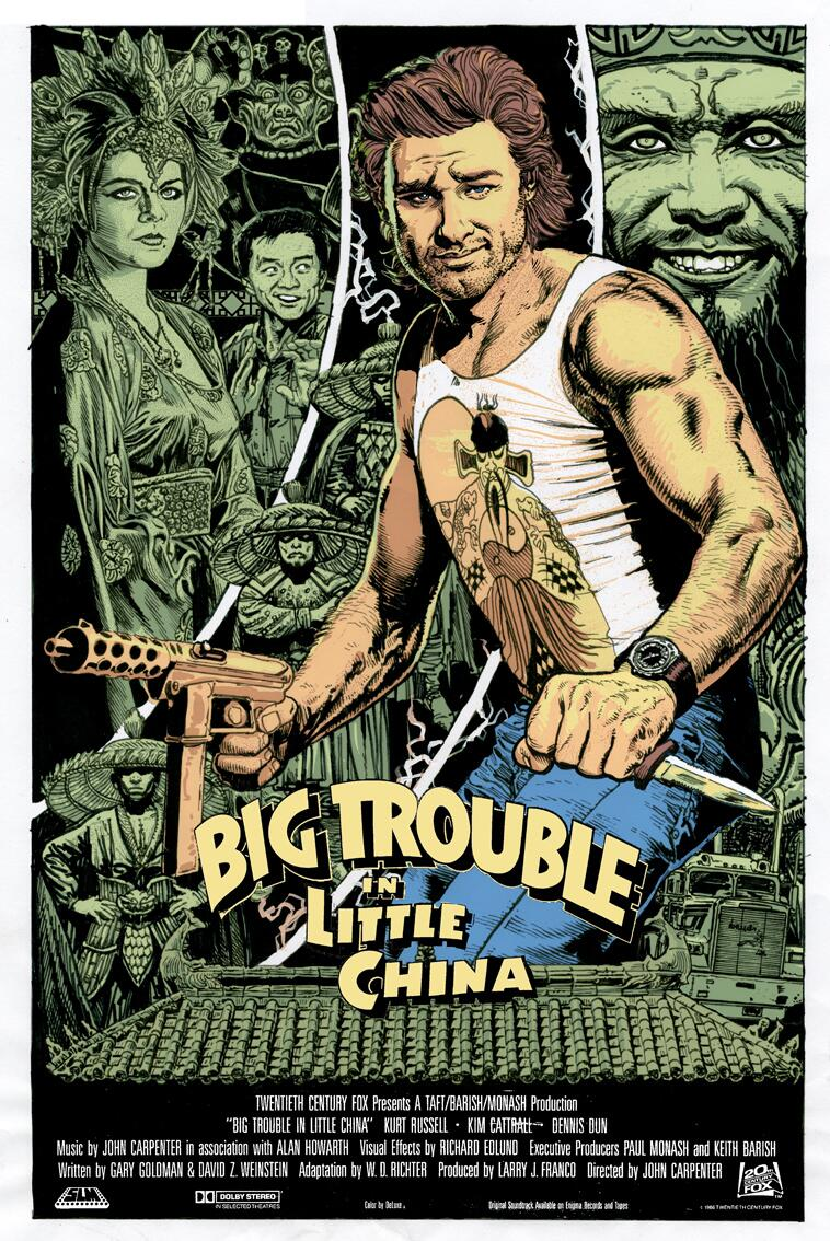 Big Trouble in Little China Poster 6