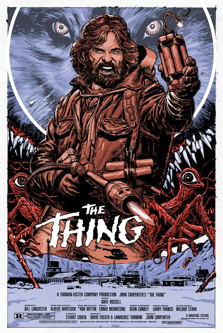 The Thing Movie Poster 11