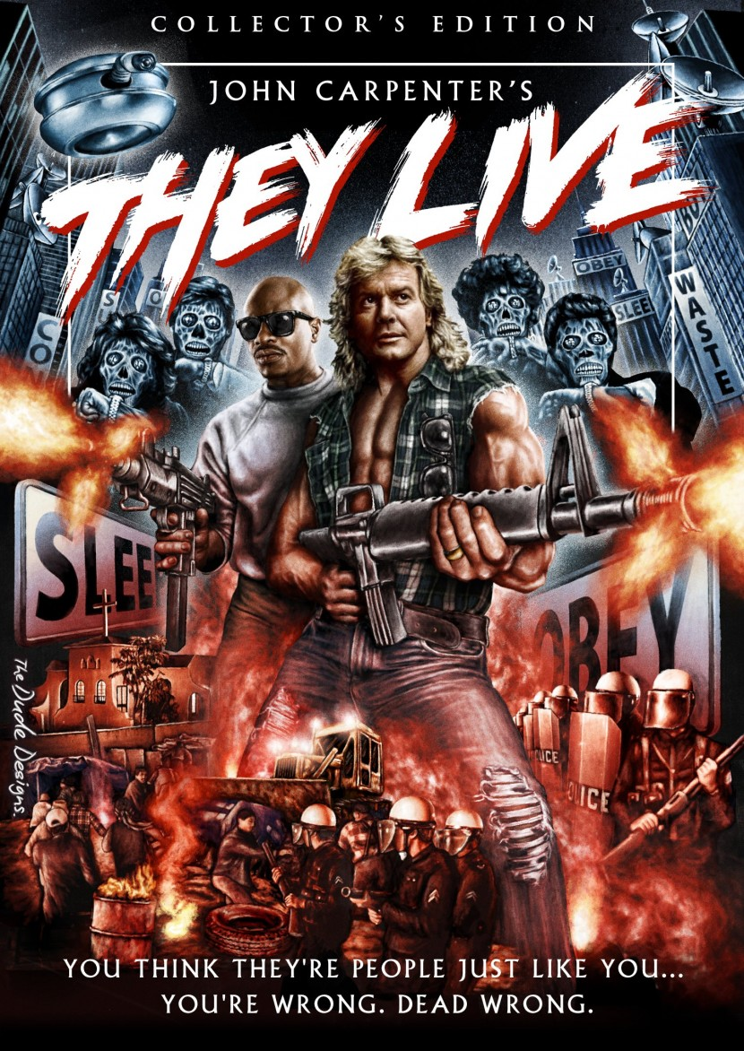 They Live alternate poster 4