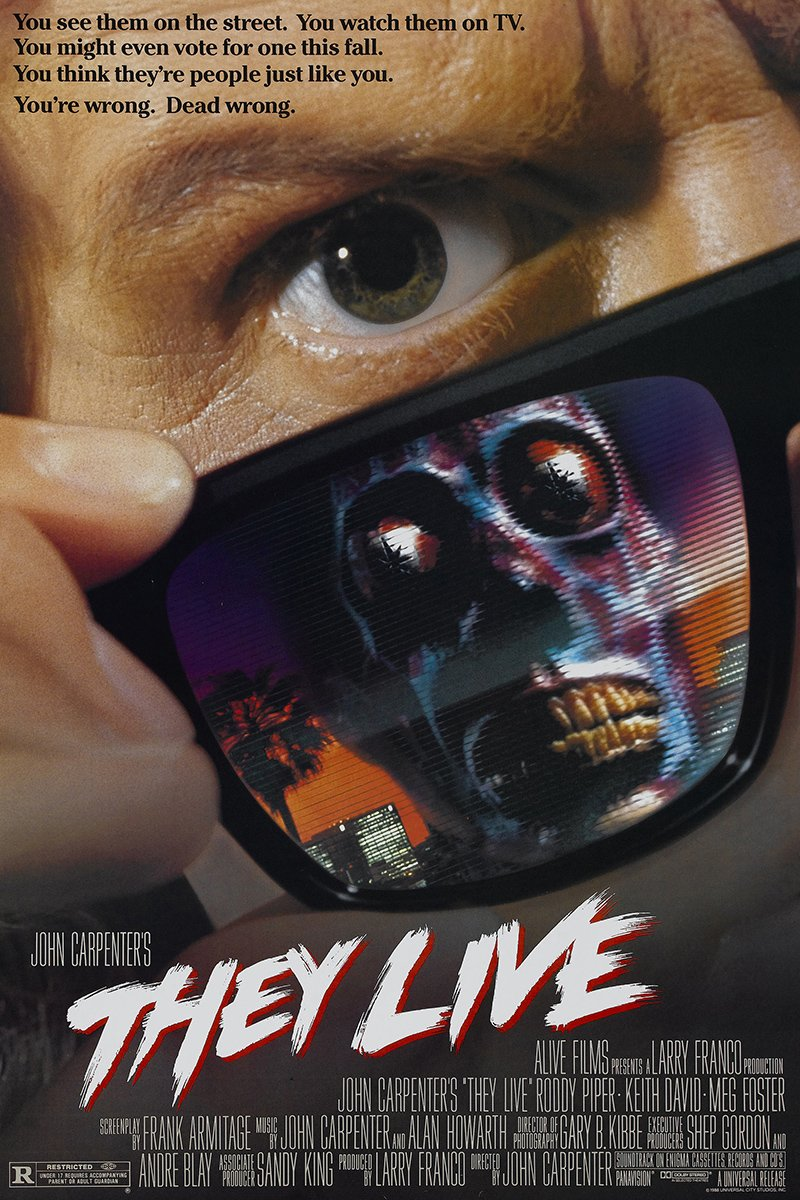 They Live alternate poster 3