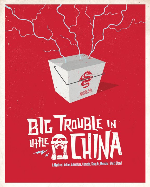 Big Trouble in Little China Poster 3
