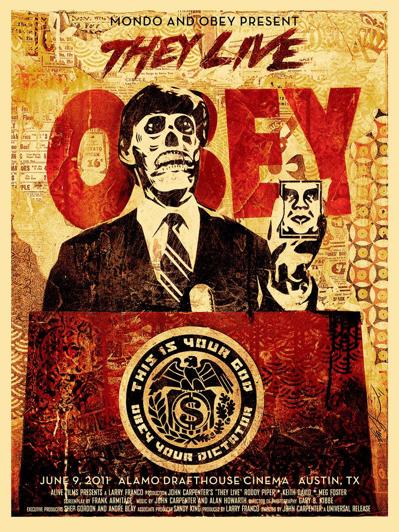 They Live alternate poster 2