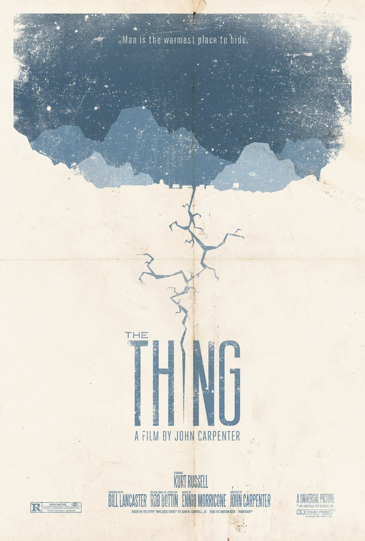 The Thing Movie Poster 8