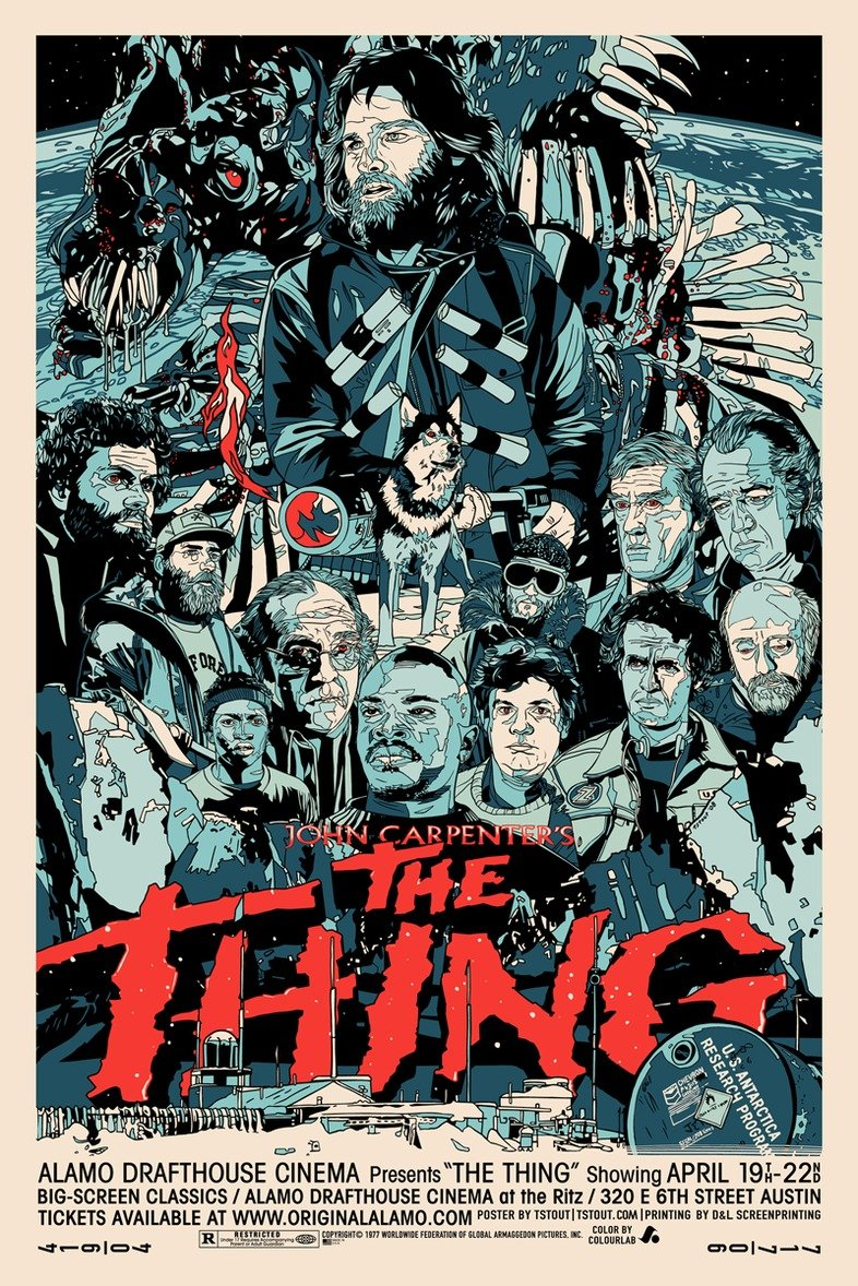 The Thing Movie Poster 3