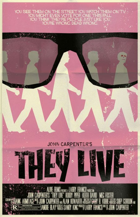 They Live alternate poster 1