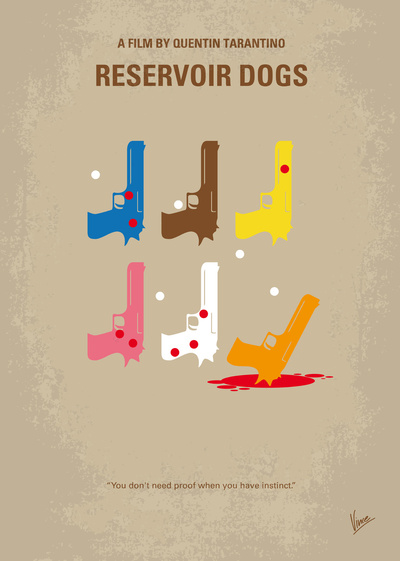 My Reservoir Dogs Movie Poster