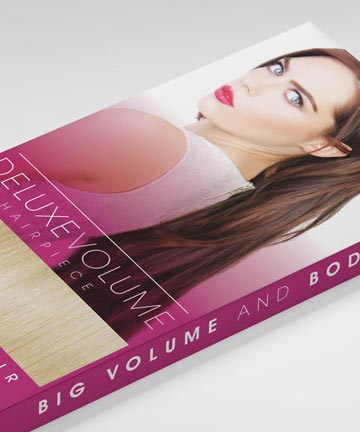 Deluxe Volume Hair Piece Box Design from Beauty Works