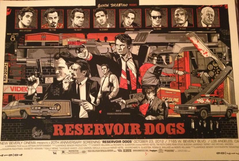 Reservoir Dogs Tyler Stout