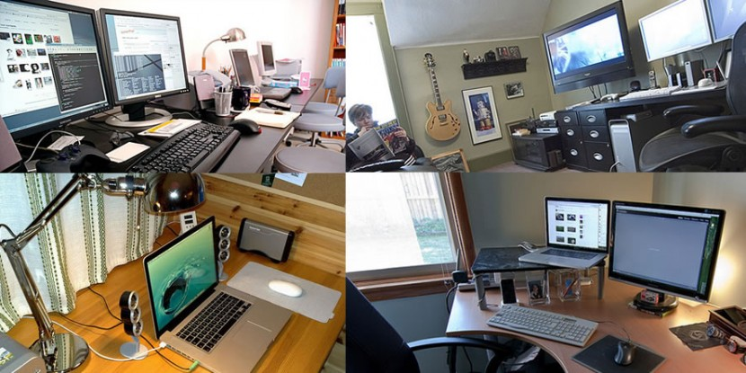 work from home office setups