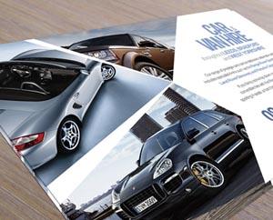 Kwik car rental angled flyer design FEATURED