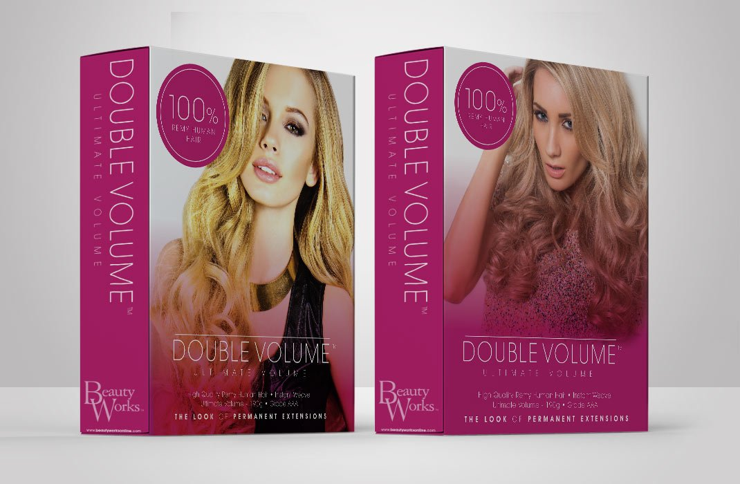 packaging-box-Double-Volume-Hair-Extensions-pair