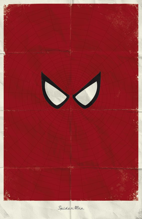 spiderman alternate poster design