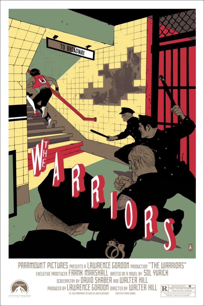 the warriors Tomer Hanuka