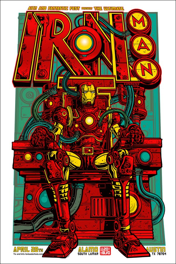 Iron Man 2 alternate poster design