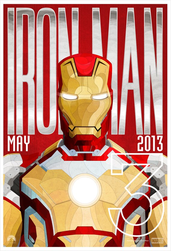 iron man 3 alternate poster design