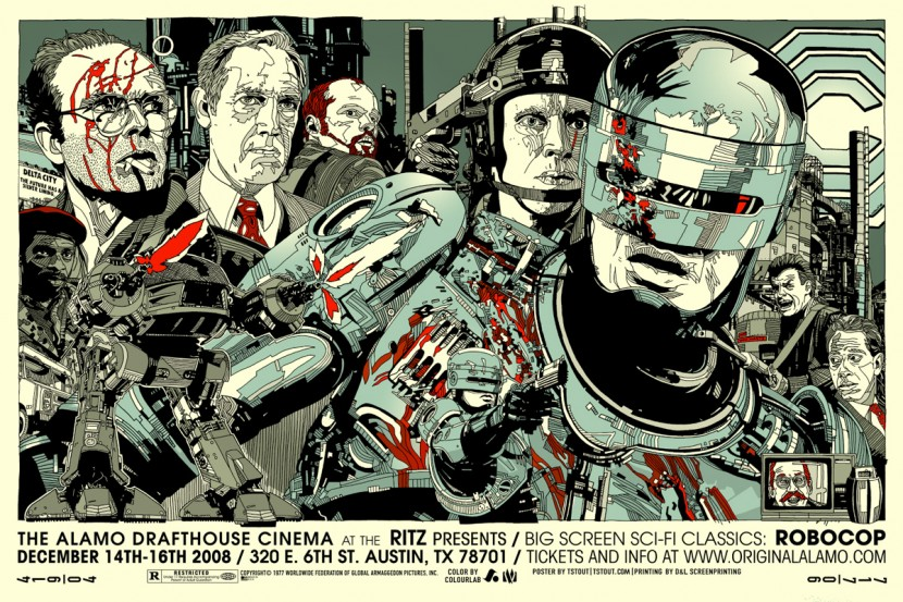 Robocop Alternate Poster Design 012