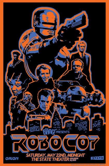 Robocop Alternate Poster Design 04