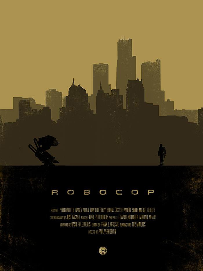 Robocop Alternate Poster Design 010