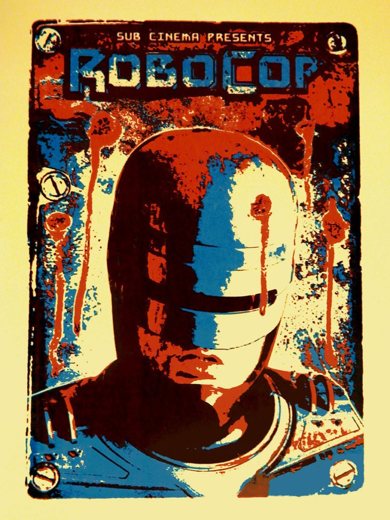 Robocop Alternate Poster Design 011