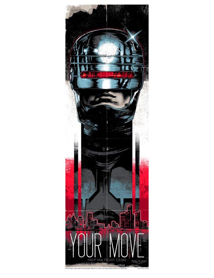 Robocop Alternate Poster Design 013